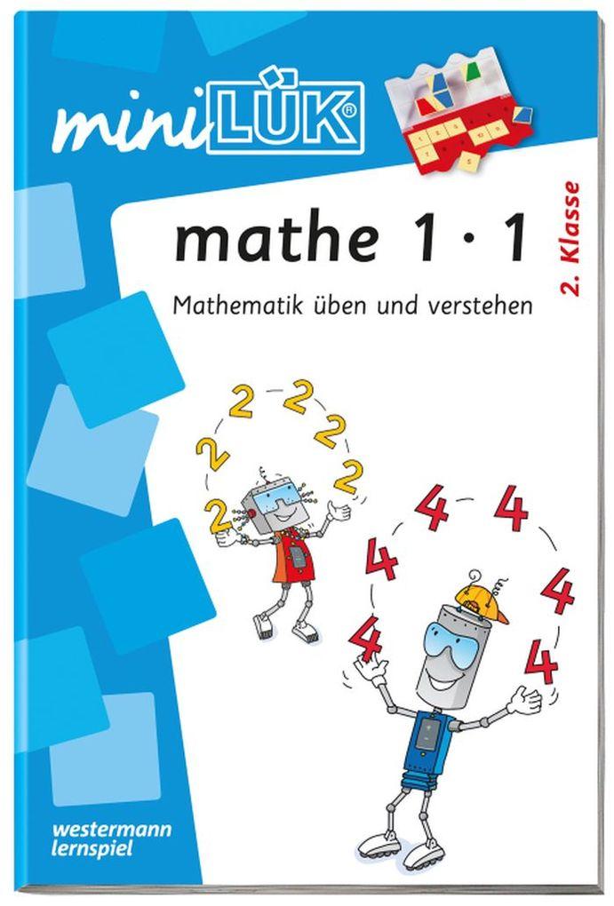 miniLÜK - mathe,Das kleine Einmaleins als Buch (kartoniert)