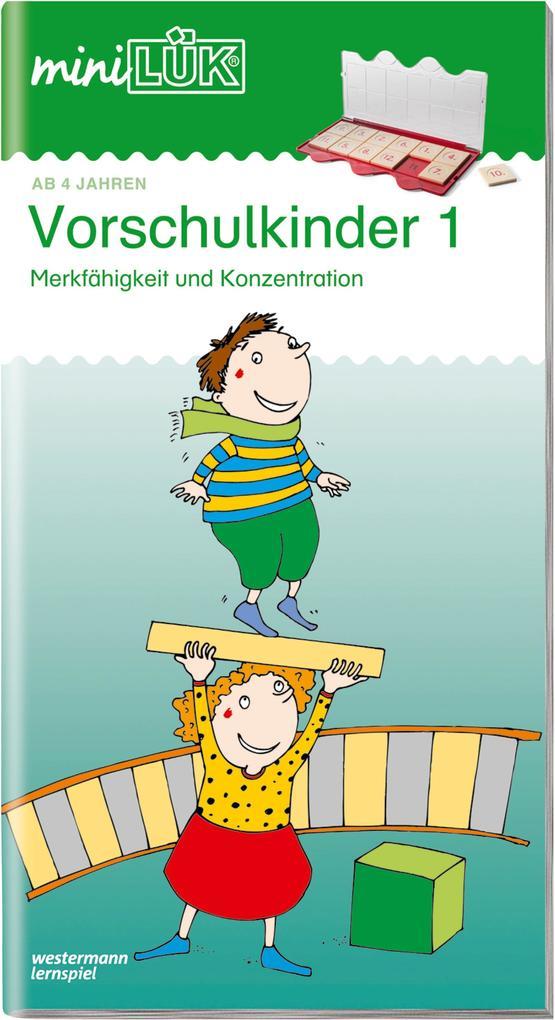 miniLÜK. Vorschulkinder 1 als Buch (geheftet)