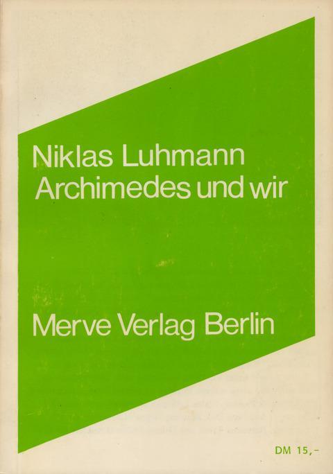 Archimedes und wir als Buch (kartoniert)