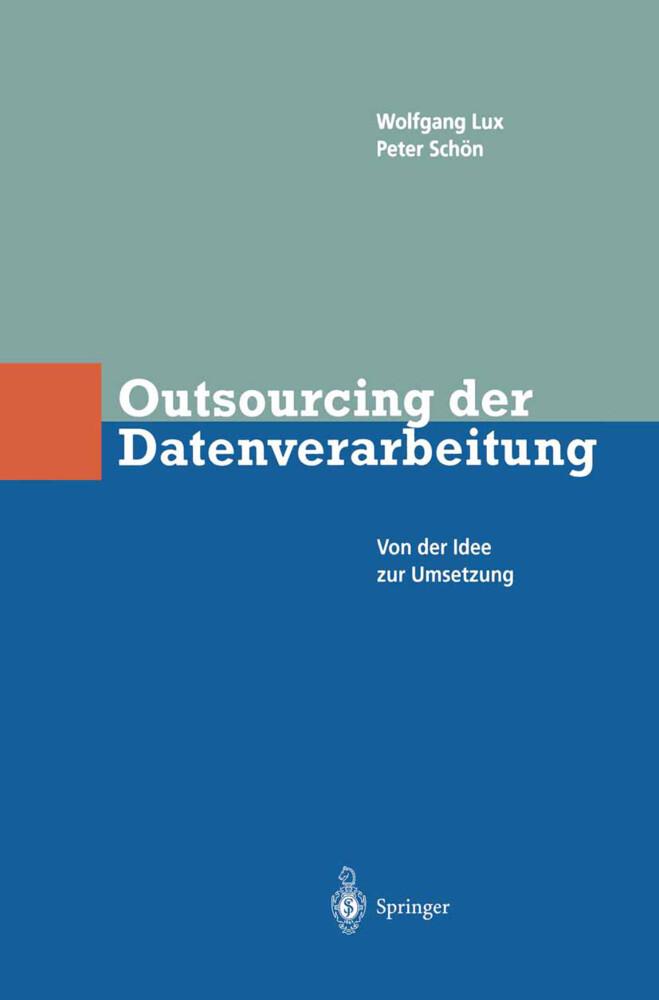 Outsourcing der Datenverarbeitung als Buch (gebunden)
