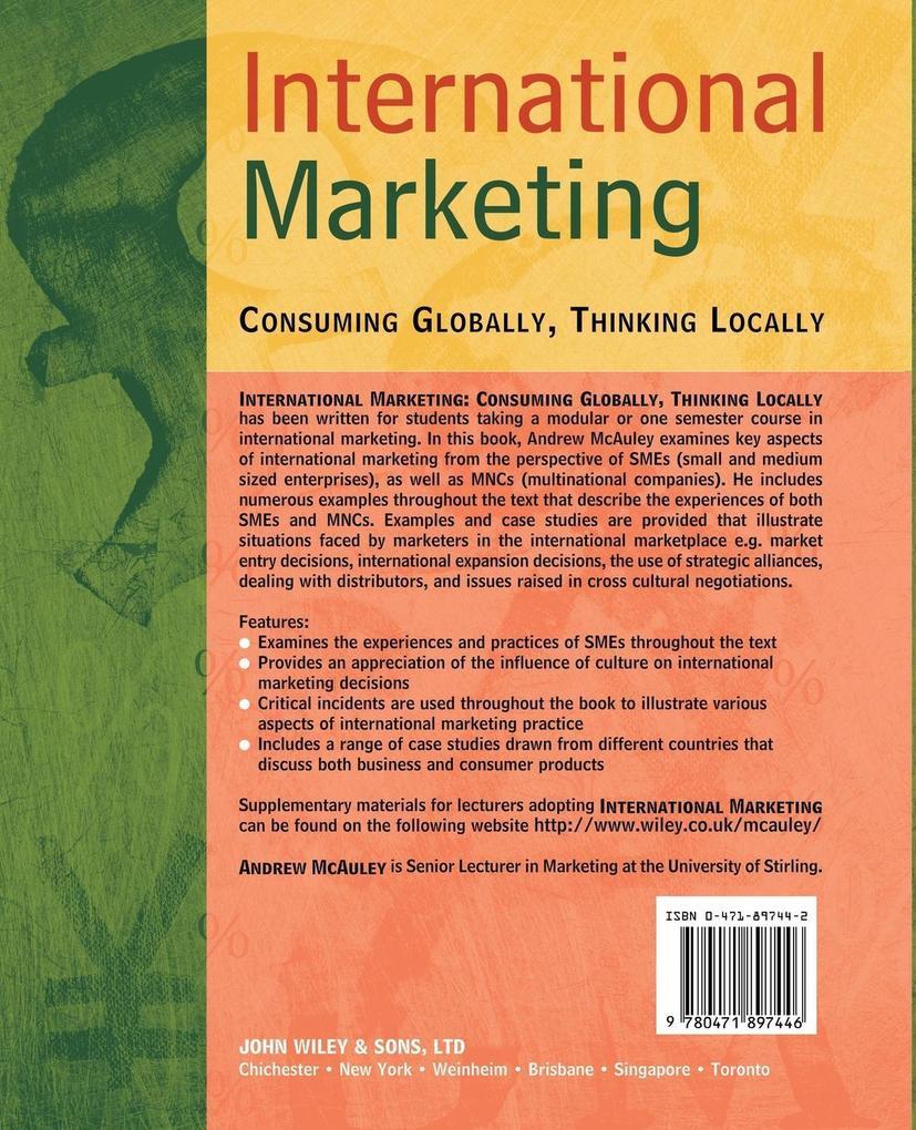International Marketing als Buch (gebunden)