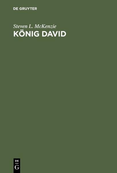 König David als Buch (gebunden)