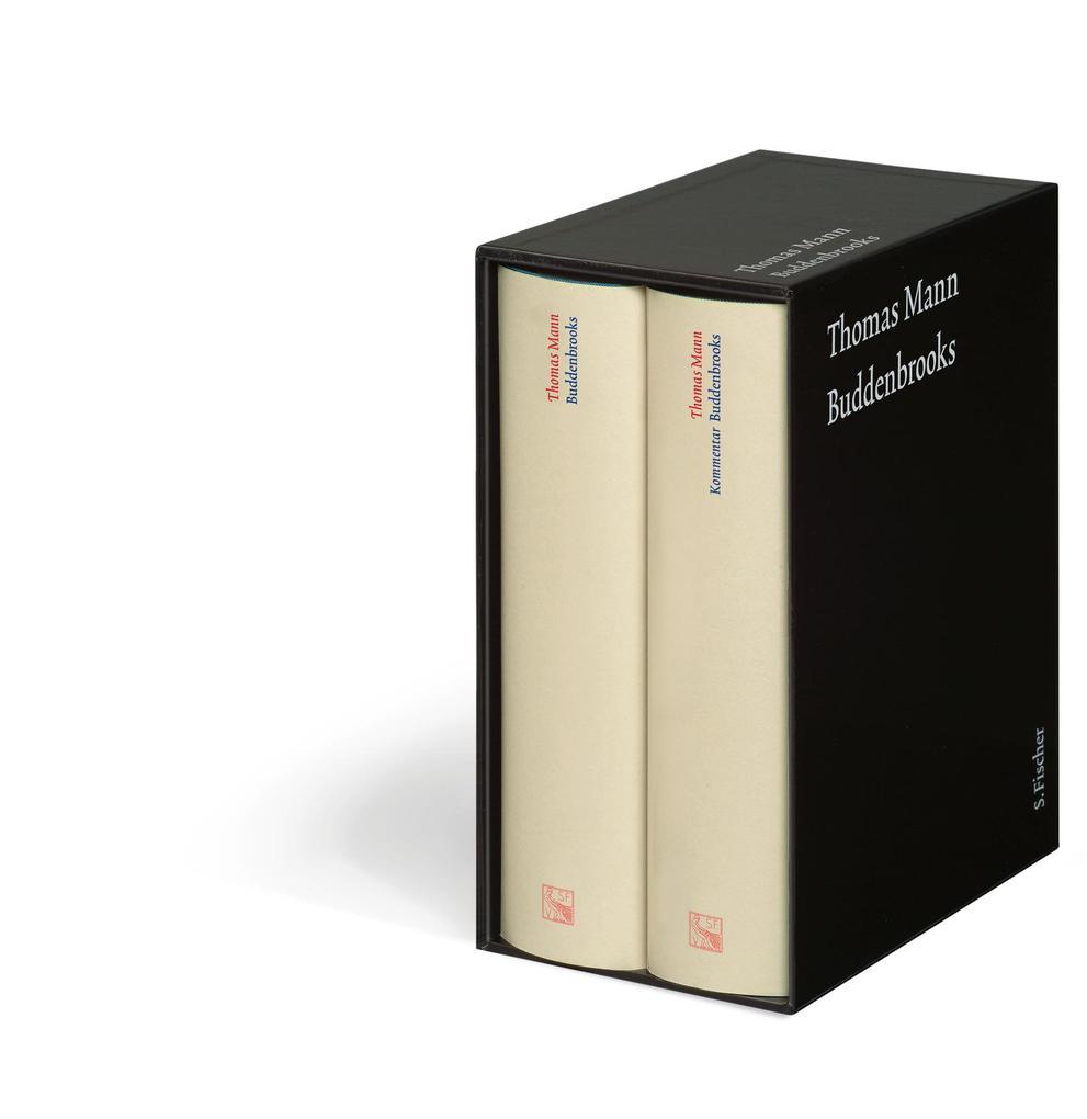 Buddenbrooks. Große kommentierte Frankfurter Ausgabe als Buch (gebunden)