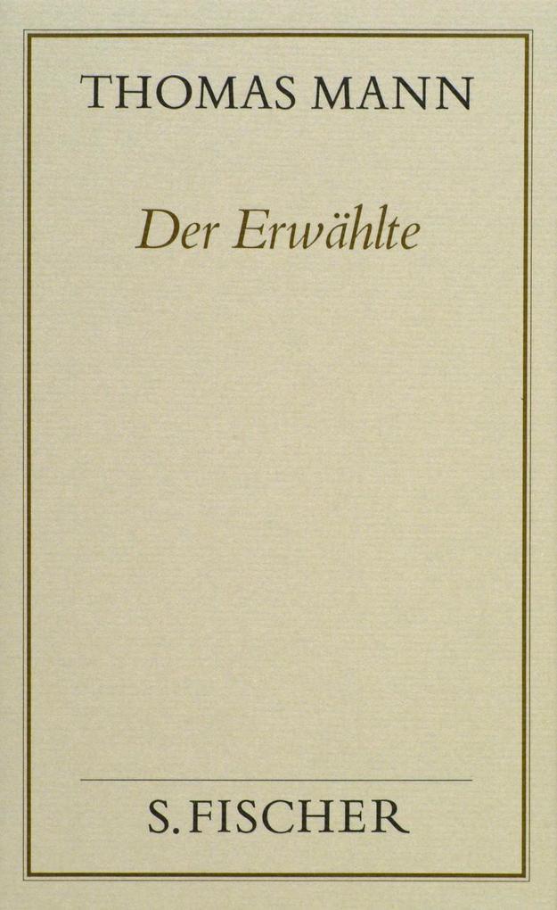 Der Erwählte ( Frankfurter Ausgabe) als Buch (gebunden)