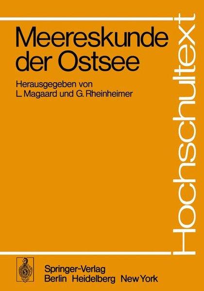 Meereskunde der Ostsee als Buch (kartoniert)
