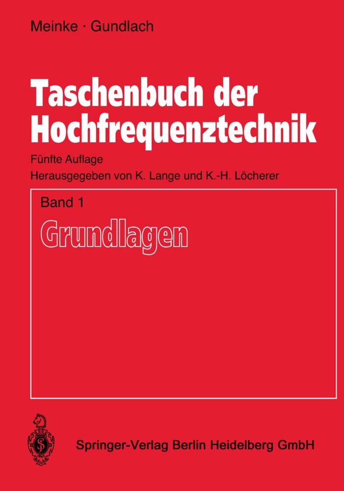 Taschenbuch der Hochfrequenztechnik als Buch (kartoniert)