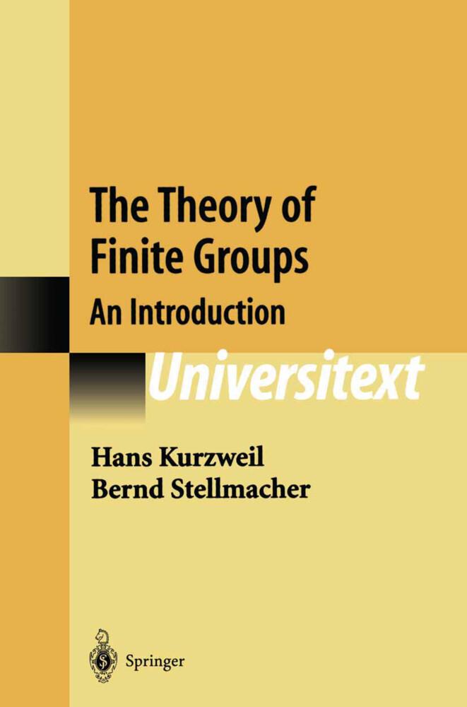 The Theory of Finite Groups als Buch (kartoniert)