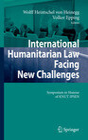 International Humanitarian Law Facing New Challenges