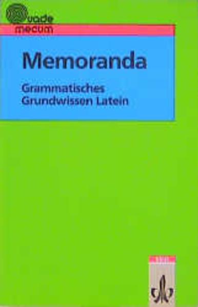 Memoranda als Buch (kartoniert)