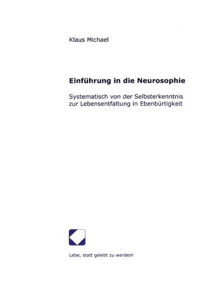 Einführung in die Neurosophie als Buch (kartoniert)