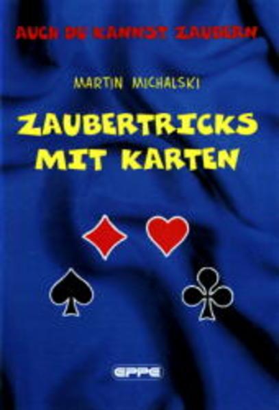 Zaubertricks mit Karten als Buch (gebunden)
