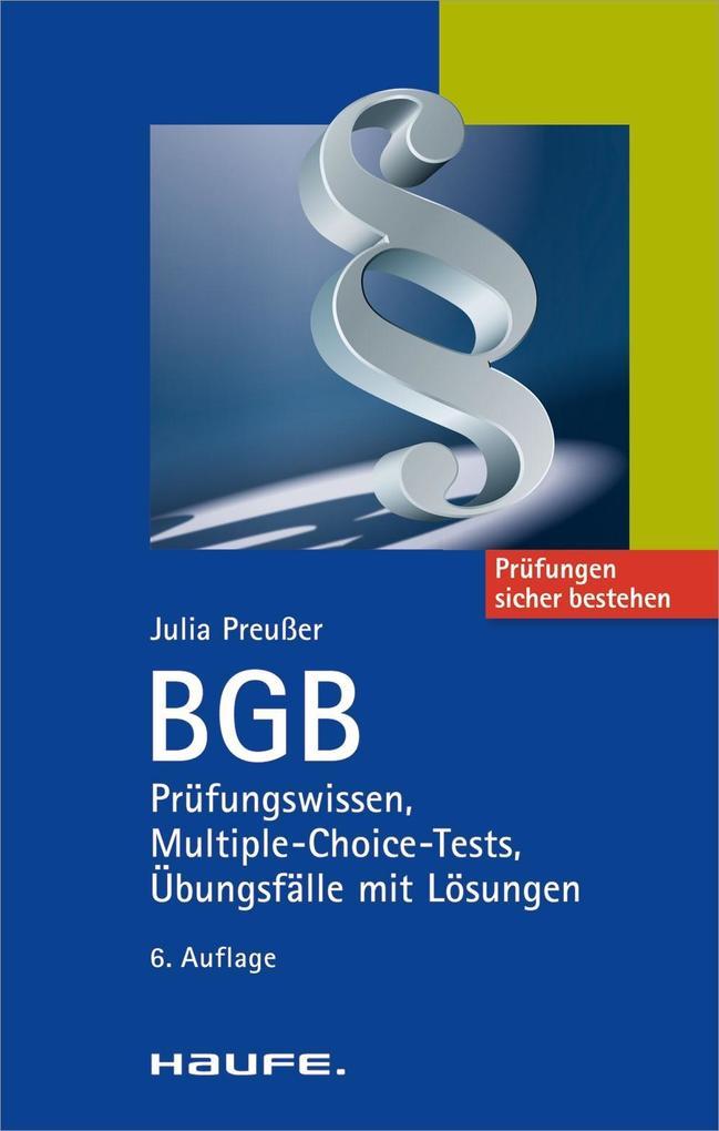 BGB als eBook epub