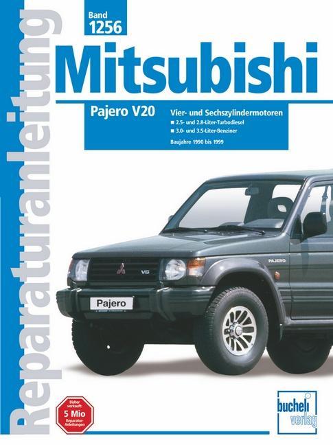 Mitsubishi Pajero V20 ab Baujahre 1990 bis 1999 als Buch (kartoniert)