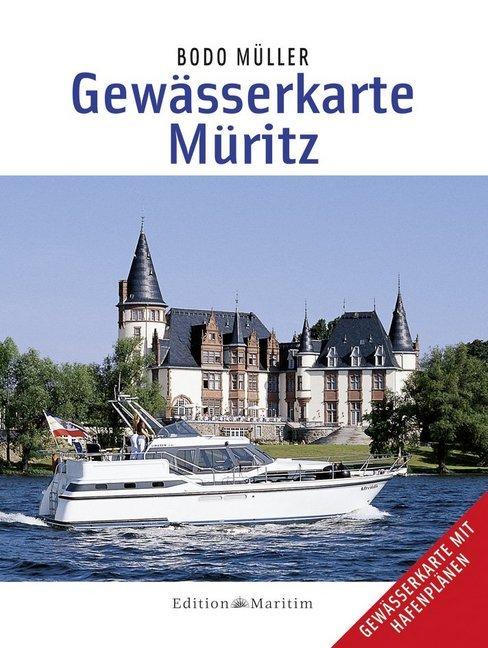 Gewässerkarte Müritz als Buch (kartoniert)