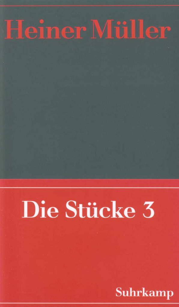 Werke 05. Die Stücke 03 als Buch (kartoniert)