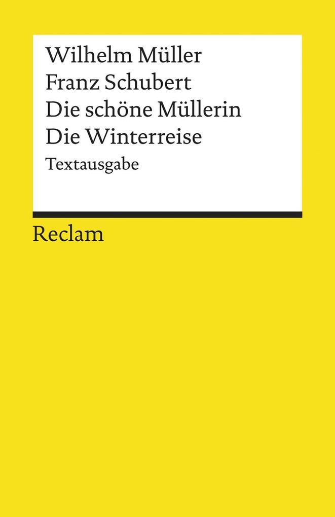Die schöne Müllerin / Die Winterreise als Taschenbuch