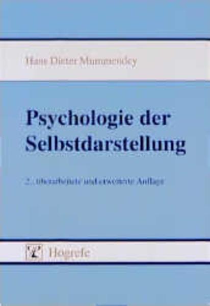 Psychologie der Selbstdarstellung als Buch (kartoniert)