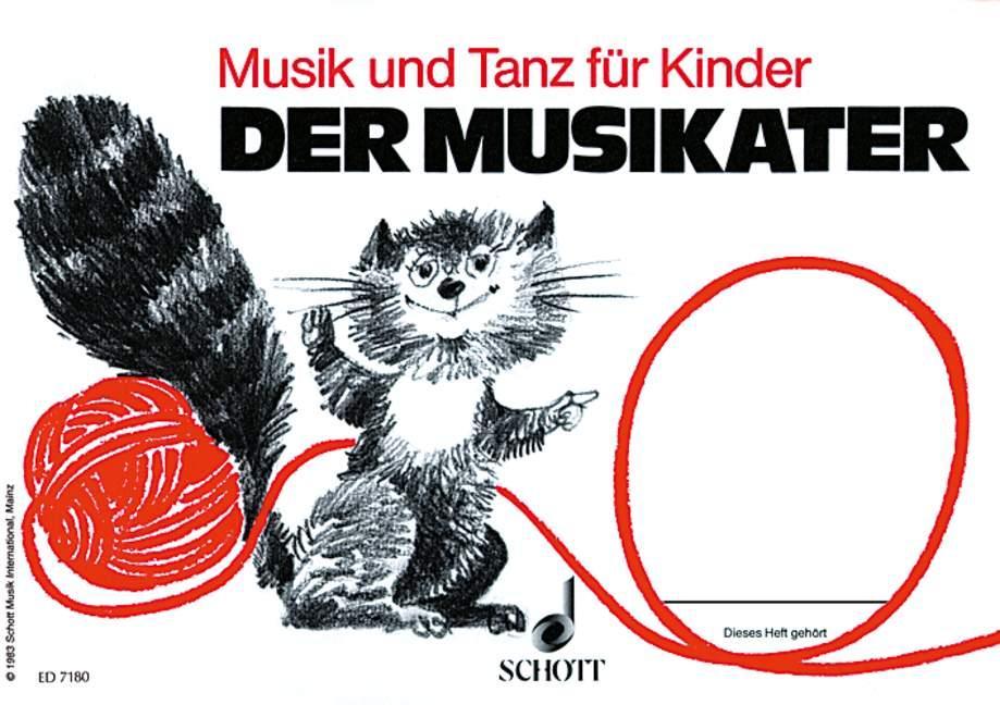 Der Musikater. Kinderheft Bd. 1 als Buch (kartoniert)