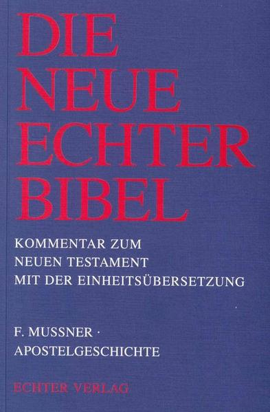 Apostelgeschichte als Buch (kartoniert)