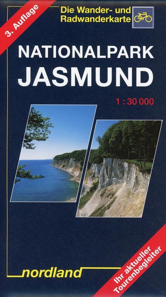 Nationalpark Jasmund 1 : 30 000. Wander- und Radwanderkarte als Blätter und Karten