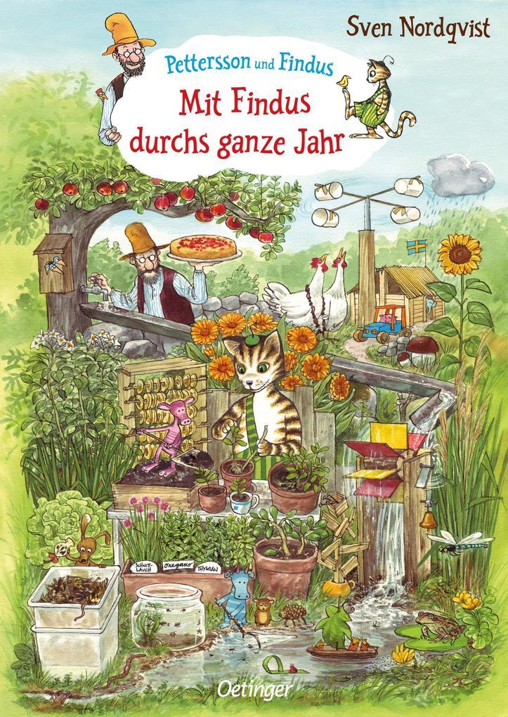 Mit Findus durchs ganze Jahr als Buch (kartoniert)
