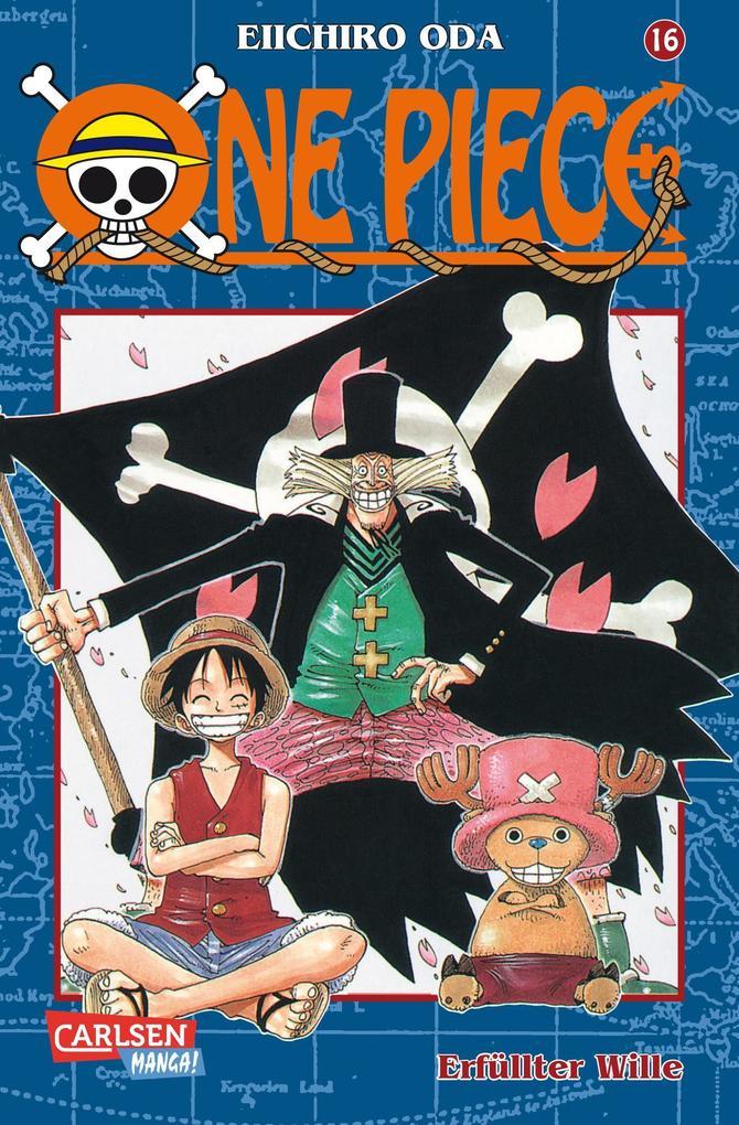 One Piece 16. Erfüllter Wille als Buch (kartoniert)