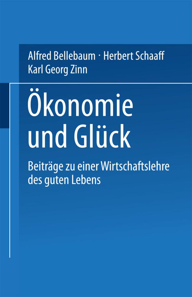 Ökonomie und Glück als Buch (kartoniert)