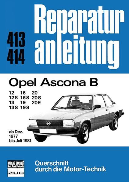 Opel Ascona B als Buch (kartoniert)