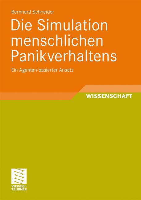 Die Simulation menschlichen Panikverhaltens als Buch (kartoniert)