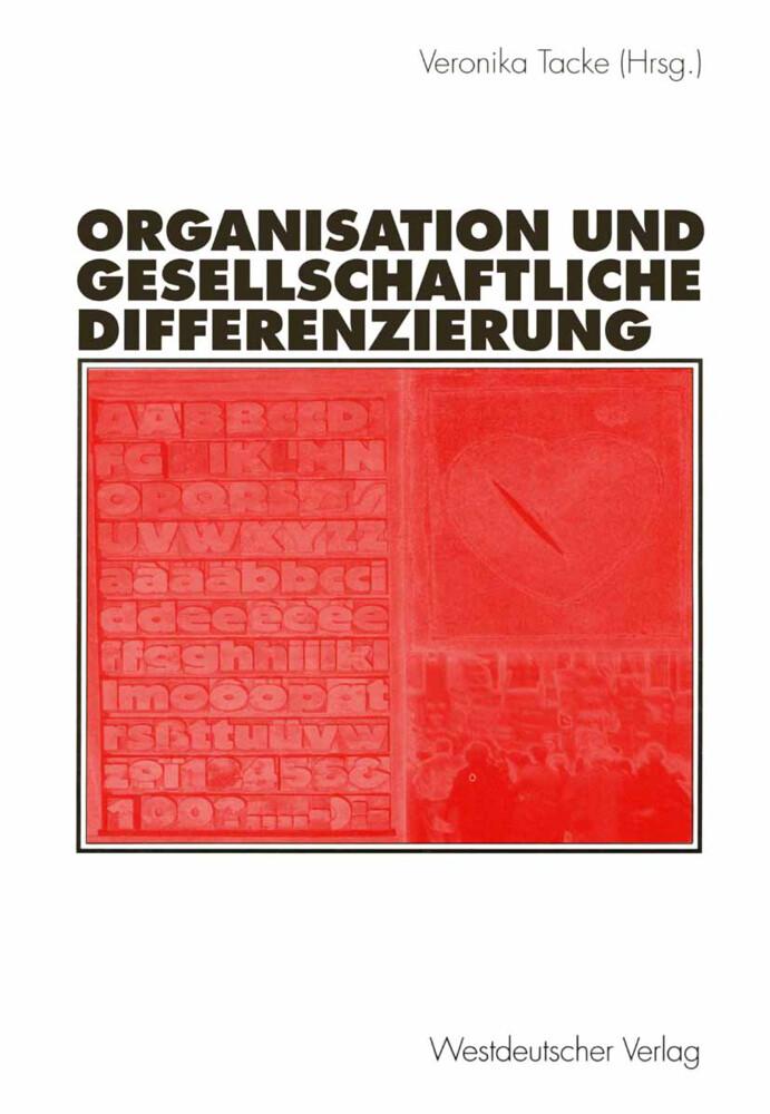 Organisation und gesellschaftliche Differenzierung als Buch (kartoniert)