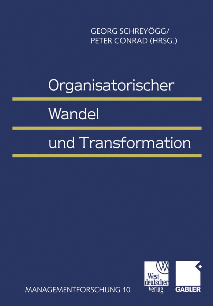 Organisatorischer Wandel und Transformation als Buch (kartoniert)