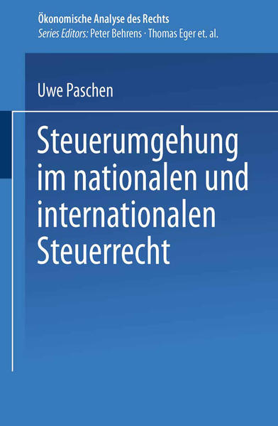 Steuerumgehung im nationalen und internationalen Steuerrecht als Buch (kartoniert)