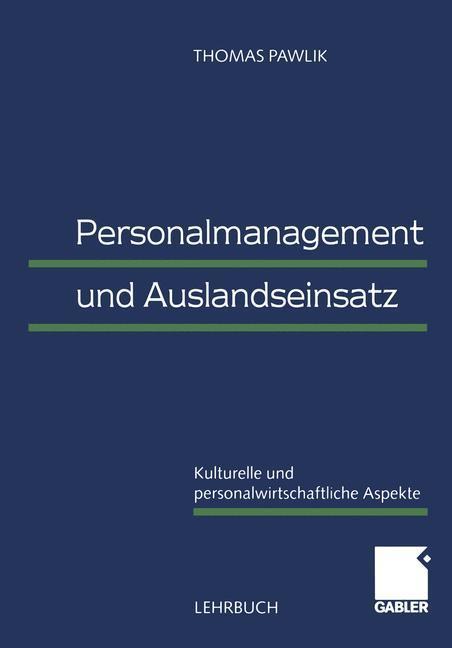 Personalmanagement und Auslandseinsatz als Buch (kartoniert)