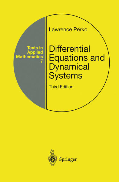 Differential Equations and Dynamical Systems als Buch (gebunden)