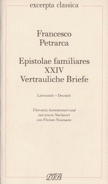 Epistolae Familiares XXIV als Buch (kartoniert)