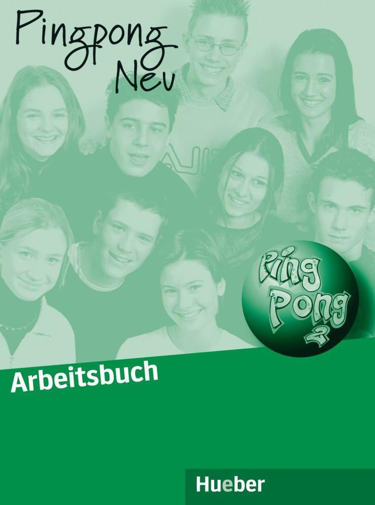 Pingpong neu 2. Arbeitsbuch als Buch (kartoniert)