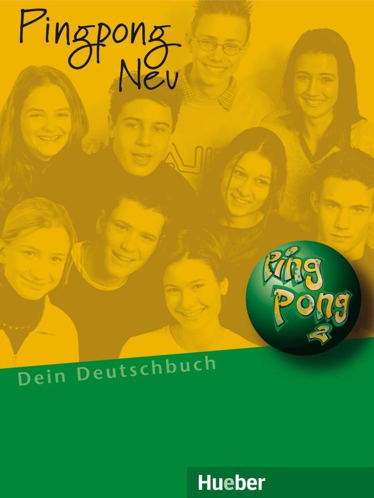 Pingpong neu 2. Lehrbuch als Buch (kartoniert)