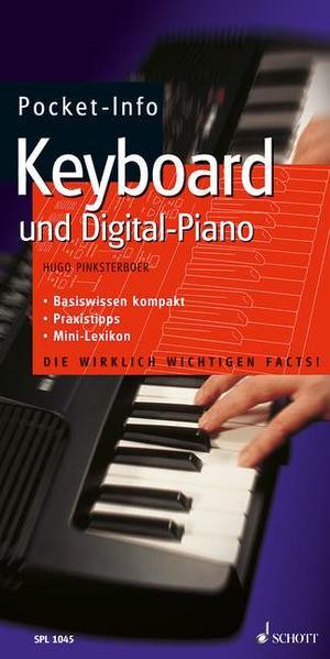 Pocket-Info Keyboard und Digital-Piano als Buch (kartoniert)