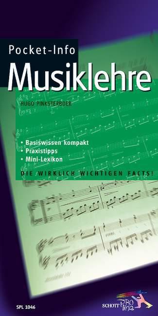 Pocket-Info Musiklehre als Buch (kartoniert)