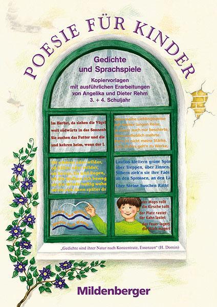 Poesie für Kinder. 3./4. Schuljahr. Gedichte und Sprachspiele als Buch (kartoniert)