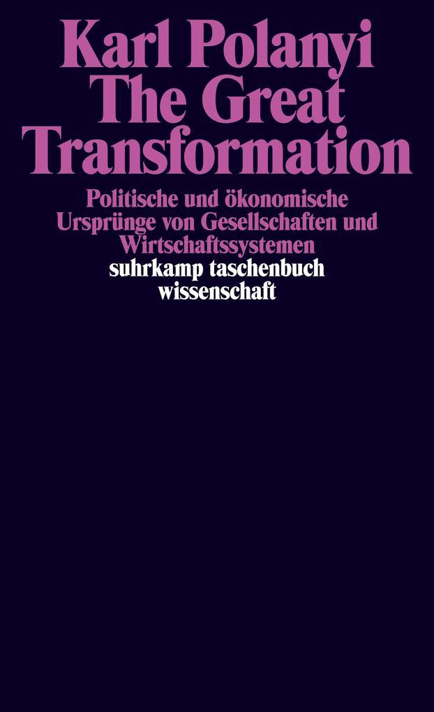 The Great Transformation als Taschenbuch