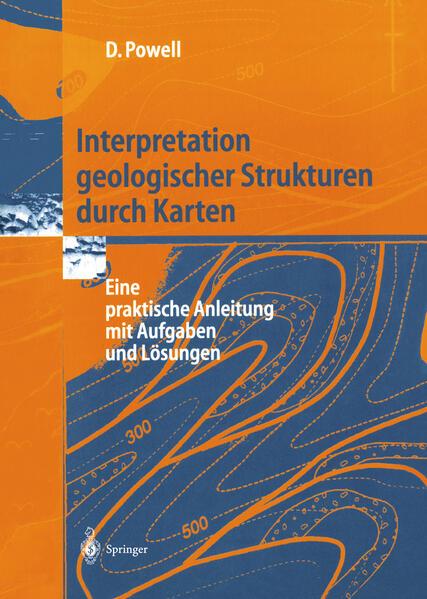 Interpretation geologischer Strukturen durch Karten als Buch (kartoniert)