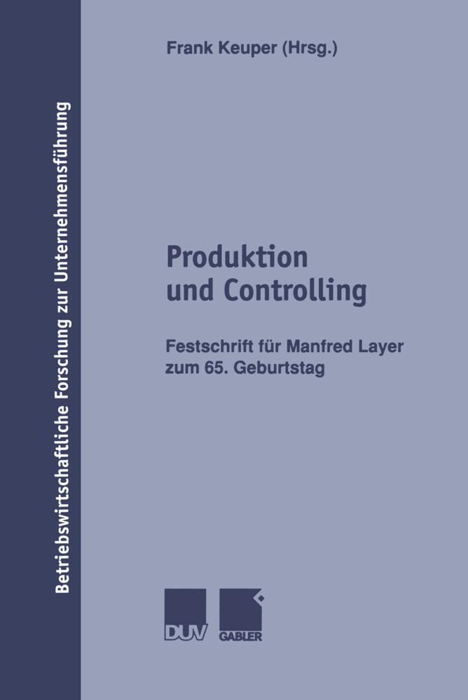 Produktion und Controlling als Buch (kartoniert)
