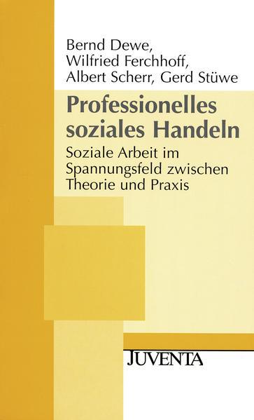 Professionelles soziales Handeln als Buch (kartoniert)