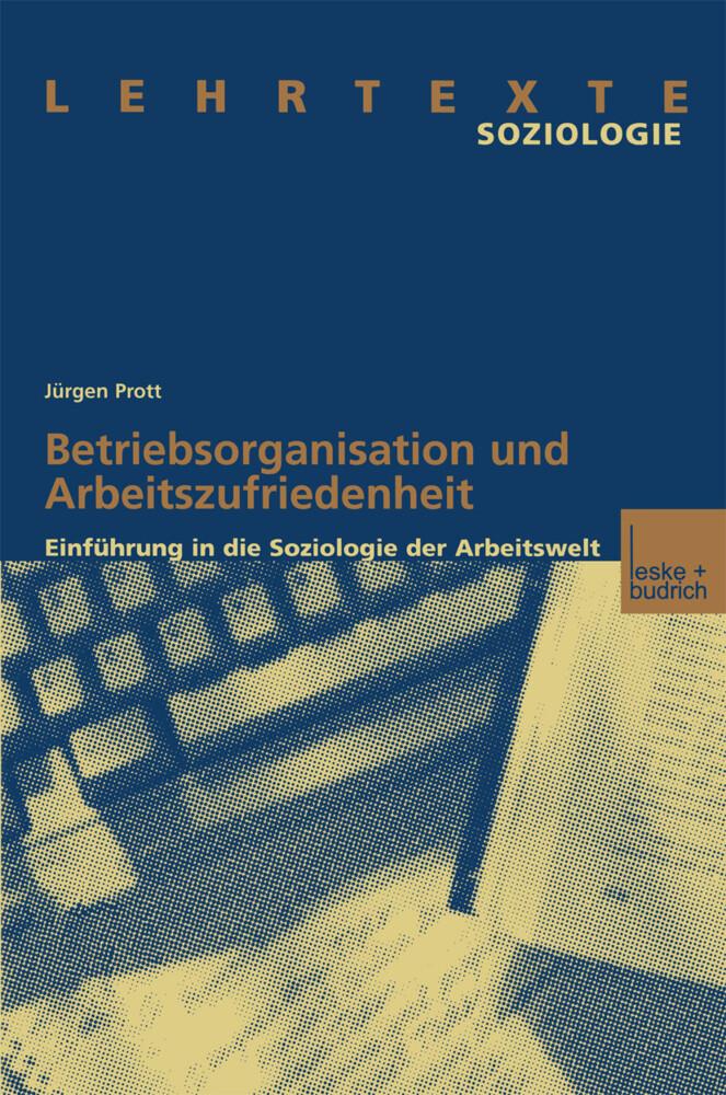 Betriebsorganisation und Arbeitszufriedenheit als Buch (kartoniert)