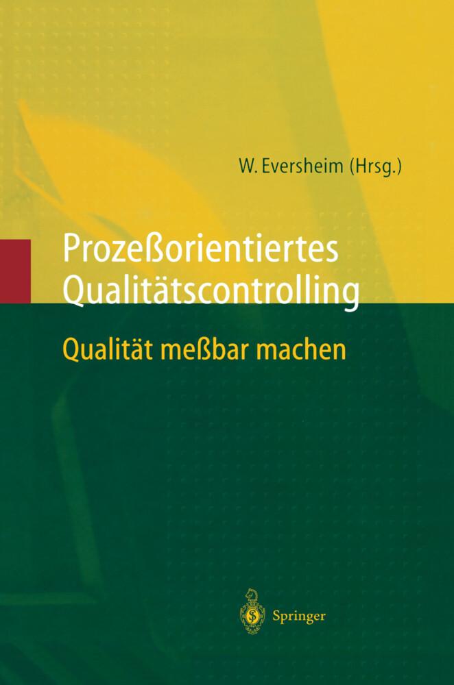 Prozeßorientiertes Qualitätscontrolling als Buch (gebunden)