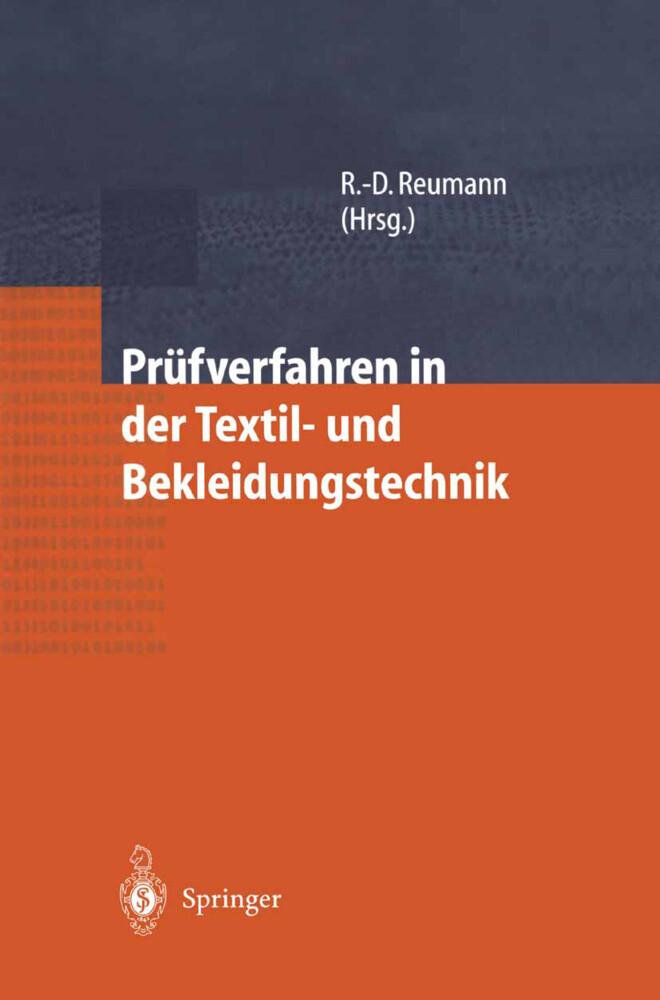 Prüfverfahren in der Textil- und Bekleidungstechnik als Buch (gebunden)