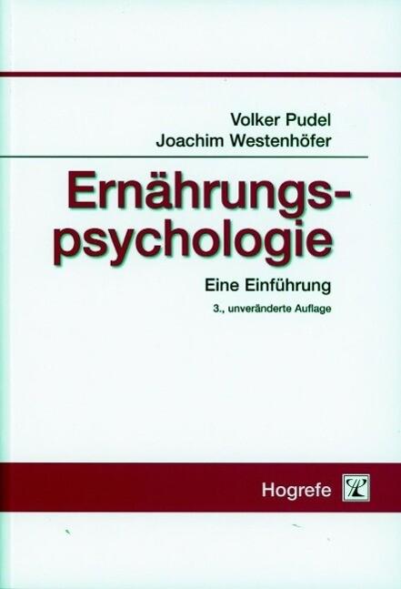 Ernährungspsychologie als Buch (kartoniert)