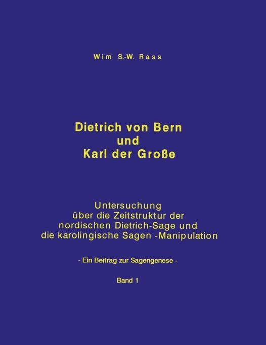 Dietrich von Bern und Karl der Große Bd. 1 als Buch (kartoniert)