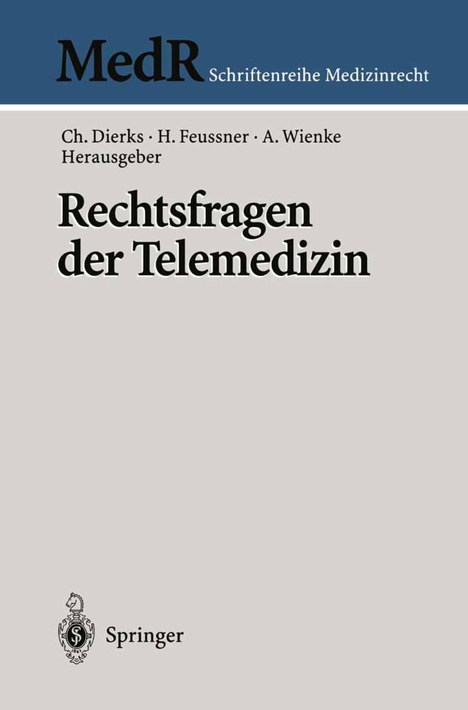 Rechtsfragen der Telemedizin als Buch (kartoniert)